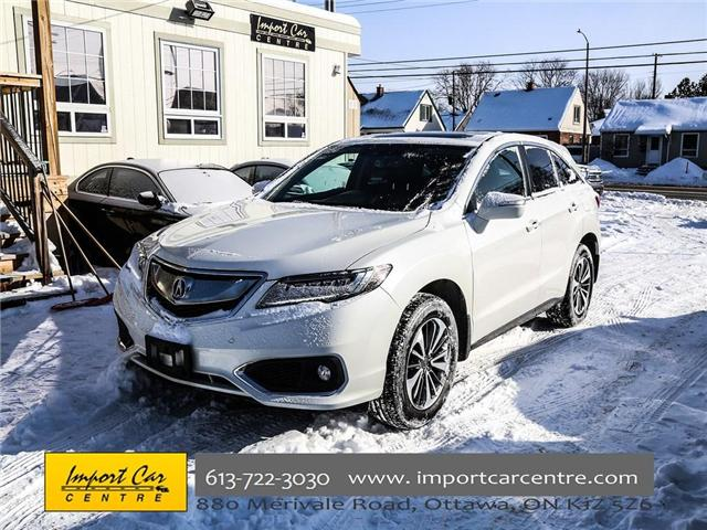 2016 Acura RDX Base (Stk: 803033) in Ottawa - Image 1 of 27