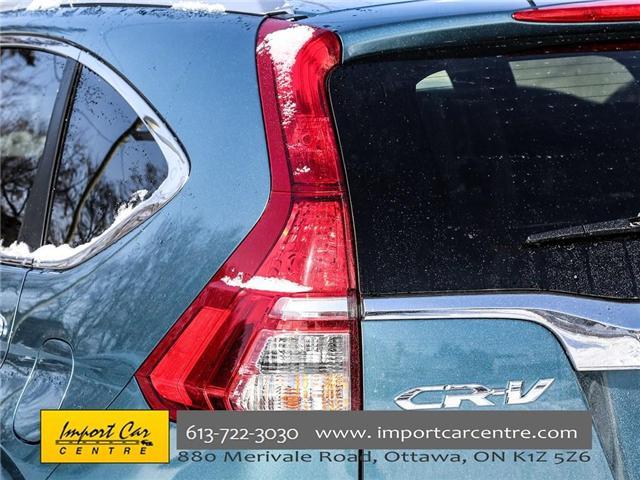 2016 Honda CR-V Touring (Stk: 800183) in Ottawa - Image 12 of 28