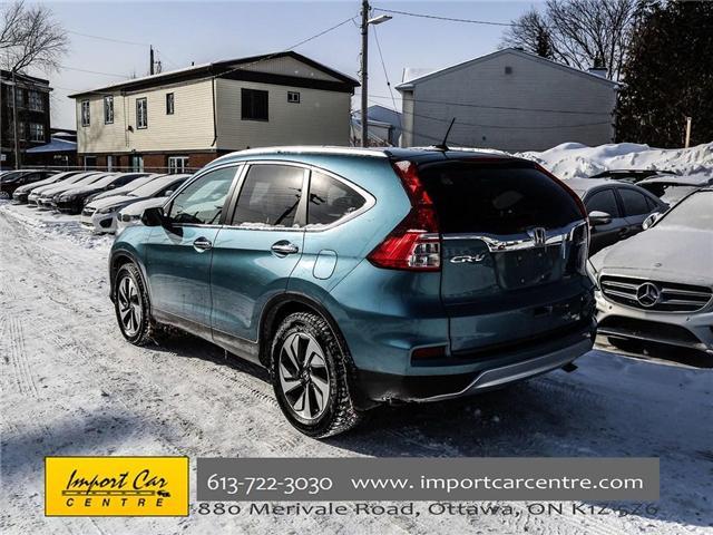 2016 Honda CR-V Touring (Stk: 800183) in Ottawa - Image 16 of 28