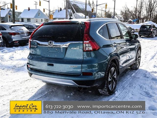 2016 Honda CR-V Touring (Stk: 800183) in Ottawa - Image 18 of 28