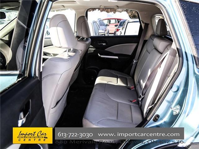 2016 Honda CR-V Touring (Stk: 800183) in Ottawa - Image 22 of 28