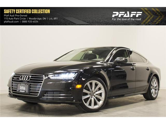 2016 Audi A7 3.0 TDI Technik (Stk: C6246) in Woodbridge - Image 1 of 14