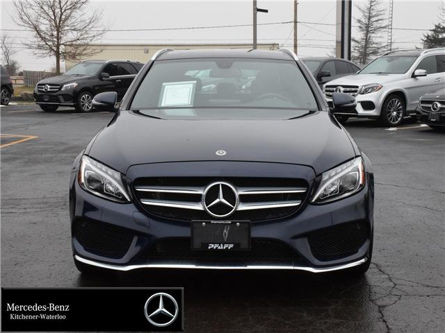 2018 Mercedes-Benz C-Class Base (Stk: K3712) in Kitchener - Image 2 of 30
