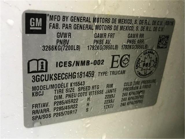 2017 Chevrolet Silverado 1500 LTZ (Stk: 181459) in NORTH BAY - Image 10 of 26
