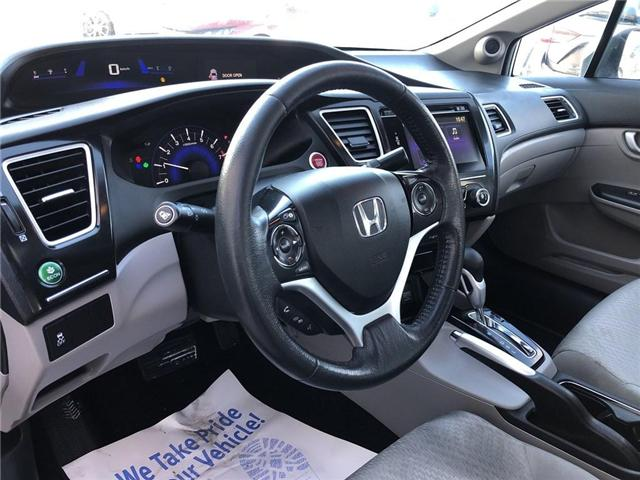2015 Honda Civic EX (Stk: 57270A) in Scarborough - Image 9 of 23