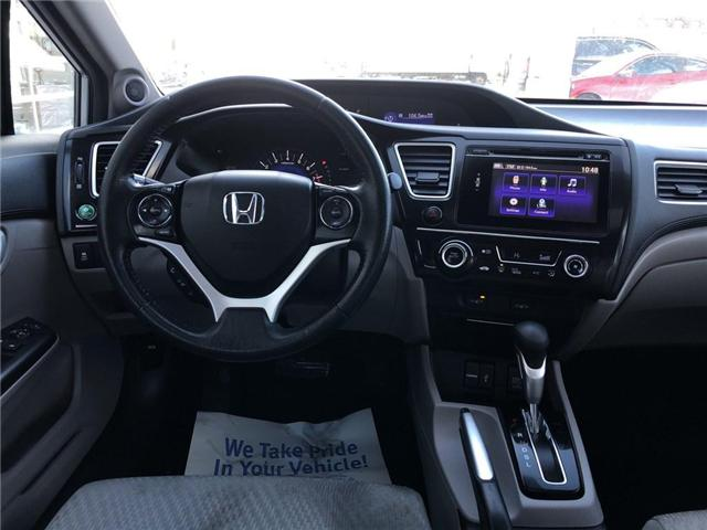 2015 Honda Civic EX (Stk: 57270A) in Scarborough - Image 10 of 23