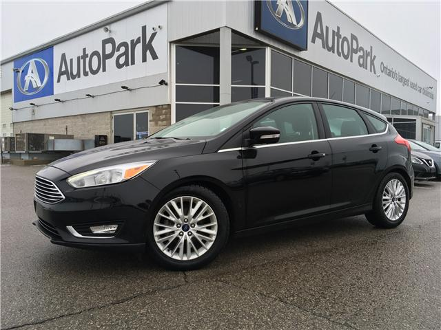 2018 Ford Focus Titanium (Stk: 18-05187RJB) in Barrie - Image 1 of 29