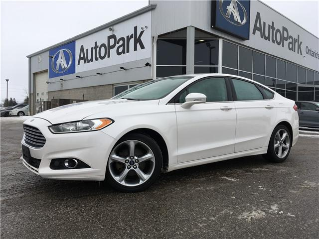 2015 Ford Fusion SE (Stk: 15-55102MB) in Barrie - Image 1 of 27