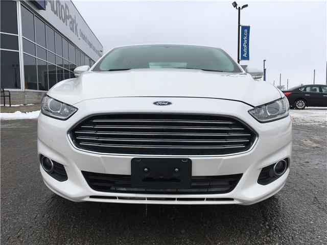 2015 Ford Fusion SE (Stk: 15-55102MB) in Barrie - Image 2 of 27