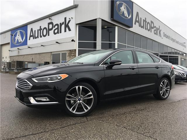 2018 Ford Fusion Titanium (Stk: 18-36452RMB) in Barrie - Image 1 of 26