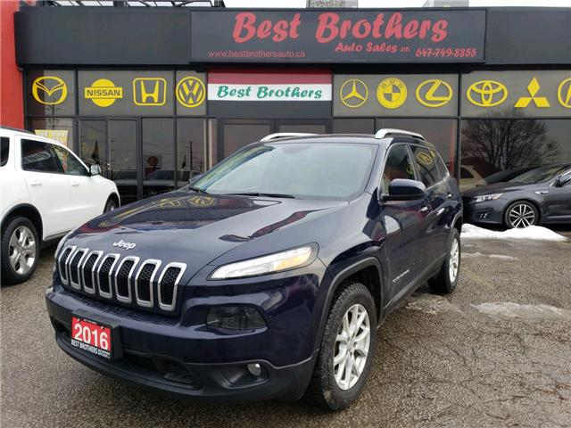 2016 Jeep Cherokee North (Stk: 210349) in Toronto - Image 1 of 13