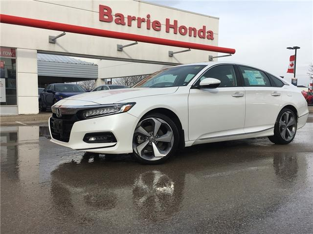 2018 Honda Accord Touring (Stk: 181100) in Barrie - Image 1 of 12