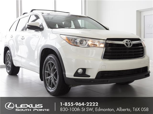 2016 Toyota Highlander Limited (Stk: LUB9112) in Edmonton - Image 1 of 21