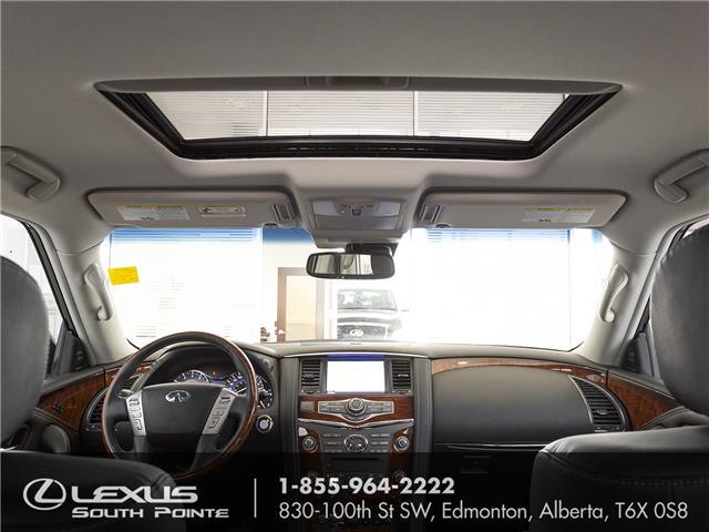 2017 Infiniti QX80 Limited 7 Passenger (Stk: LUB0028) in Edmonton - Image 10 of 22