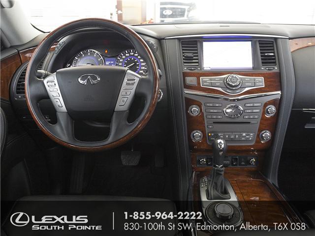 2017 Infiniti QX80 Limited 7 Passenger (Stk: LUB0028) in Edmonton - Image 12 of 22