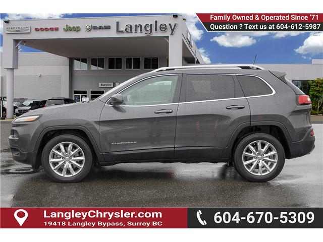 2016 Jeep Cherokee Limited (Stk: EE896810A) in Surrey - Image 4 of 14