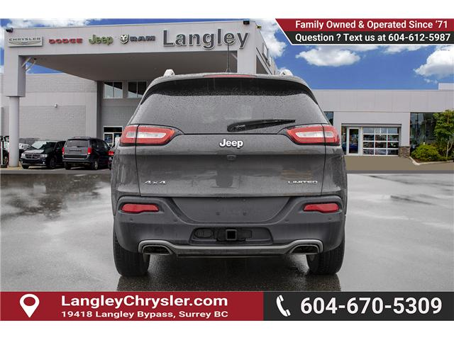 2016 Jeep Cherokee Limited (Stk: EE896810A) in Surrey - Image 5 of 14