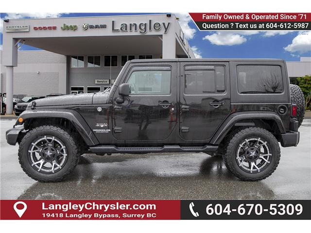 2017 Jeep Wrangler Unlimited Sahara (Stk: K548395A) in Surrey - Image 4 of 15