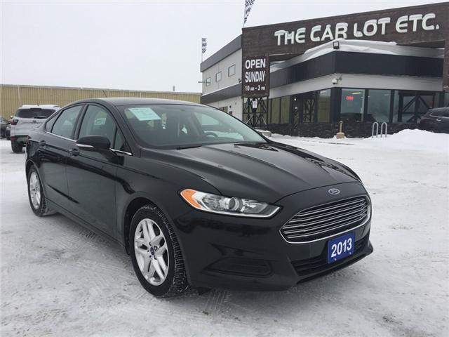 2013 Ford Fusion SE (Stk: 18689-1) in Sudbury - Image 1 of 25