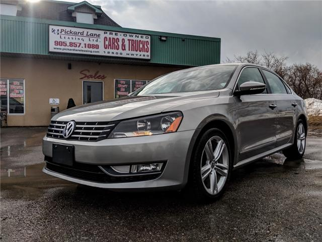 2012 Volkswagen Passat 2.0 TDI Highline (Stk: ) in Bolton - Image 1 of 26