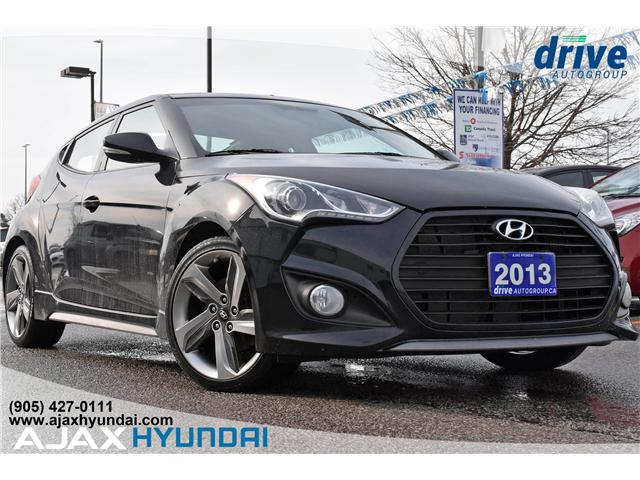 2013 Hyundai Veloster Turbo (Stk: 19351A) in Ajax - Image 1 of 27