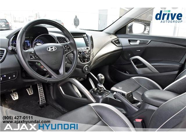 2013 Hyundai Veloster Turbo (Stk: 19351A) in Ajax - Image 2 of 27