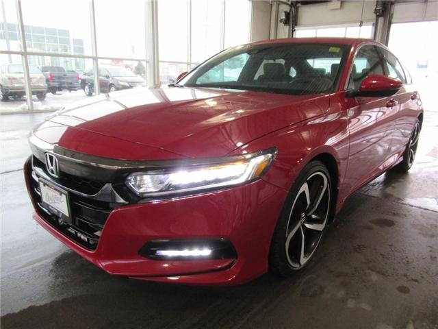 2018 Honda Accord Sport, HONDA CERTIFIED! (Stk: 9503582A) in Brampton - Image 1 of 30