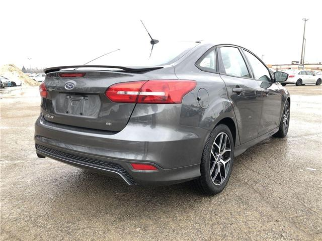 2018 Ford Focus SE (Stk: FC18933) in Barrie - Image 5 of 22