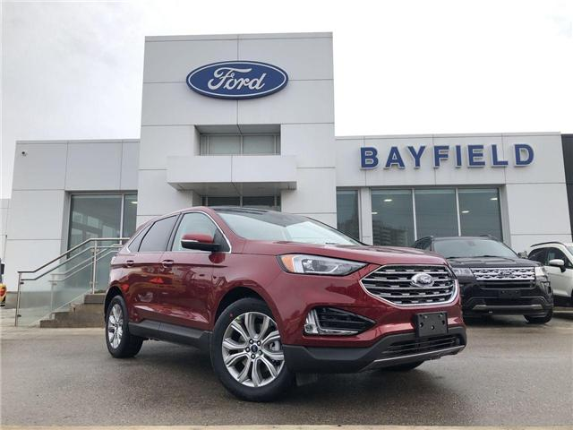 2019 Ford Edge Titanium (Stk: ED19148) in Barrie - Image 1 of 27