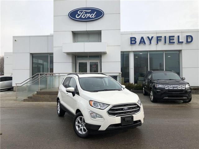 2018 Ford EcoSport SE (Stk: ET181490) in Barrie - Image 1 of 24