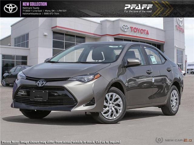 2019 Toyota Corolla 4-door Sedan LE CVTi-S (Stk: H19250) in Orangeville - Image 1 of 24