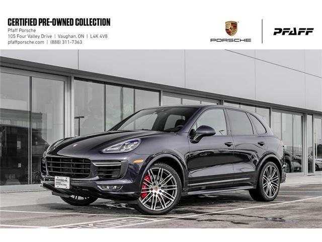 2017 Porsche Cayenne GTS w/ Tip (Stk: U7696) in Vaughan - Image 1 of 22