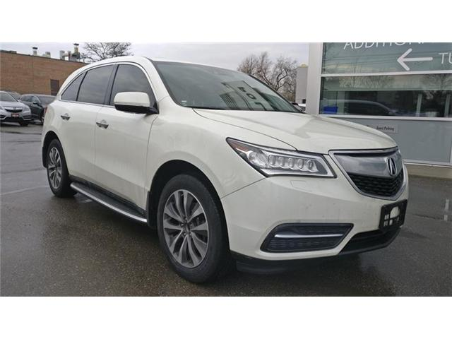 2015 Acura MDX Navigation Package (Stk: 504021P) in Brampton - Image 1 of 6