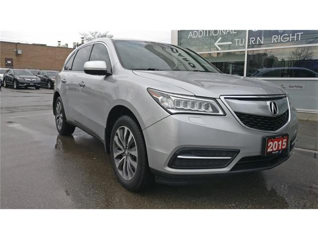 2015 Acura MDX Technology Package (Stk: 504106P) in Brampton - Image 1 of 6