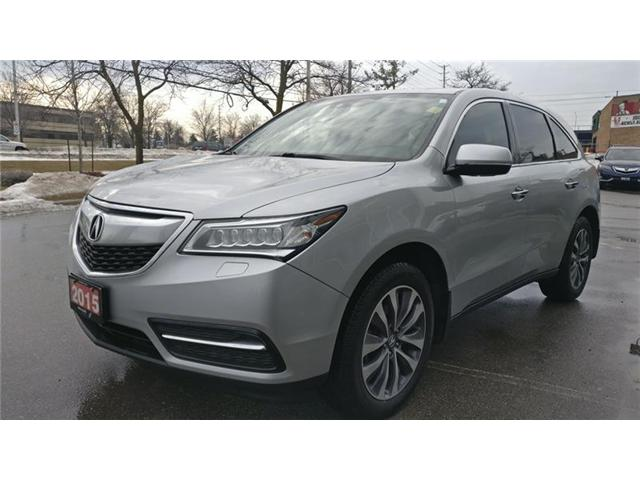 2015 Acura MDX Technology Package (Stk: 504106P) in Brampton - Image 2 of 6