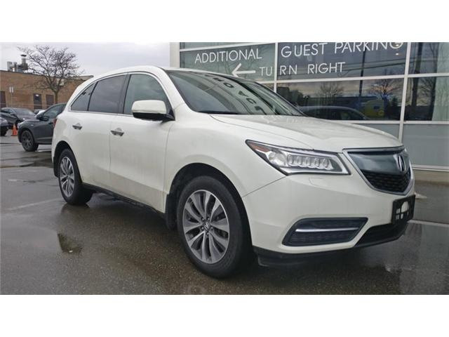 2016 Acura MDX Navigation Package (Stk: 505152T) in Brampton - Image 1 of 5