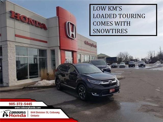 2017 Honda CR-V Touring (Stk: G1747) in Cobourg - Image 1 of 11
