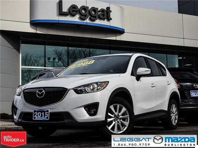 2015 Mazda CX-5 GS AUTO, MOONROOF, ALLOY WHEELS, BLUETOOTH (Stk: 1697) in Burlington - Image 1 of 23