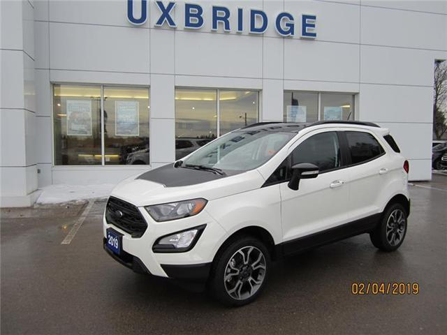 2019 Ford EcoSport SES (Stk: IEC8722) in Uxbridge - Image 1 of 8