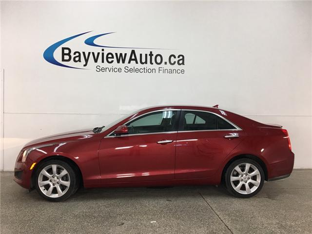 2014 Cadillac ATS 2.0L Turbo (Stk: 34196JA) in Belleville - Image 1 of 25