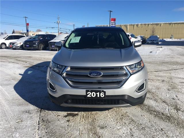 2016 Ford Edge SEL (Stk: 18187) in Sudbury - Image 2 of 18