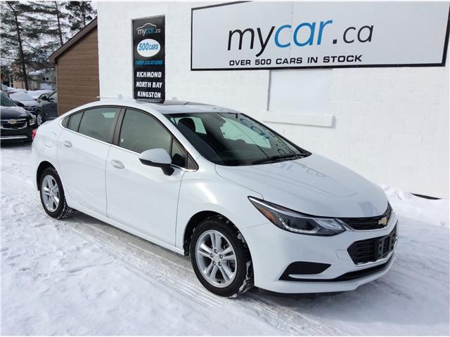 2018 Chevrolet Cruze LT Auto (Stk: 190087) in North Bay - Image 1 of 18