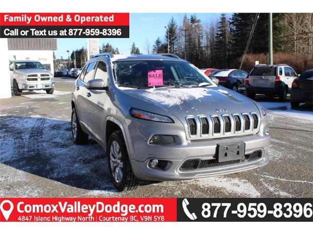 2016 Jeep Cherokee Overland (Stk: W341753C) in Courtenay - Image 1 of 13