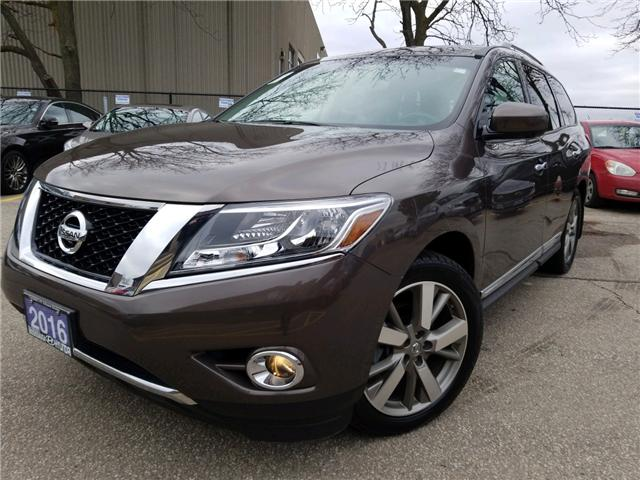 2016 Nissan Pathfinder Platinum (Stk: 39028a) in Mississauga - Image 1 of 20