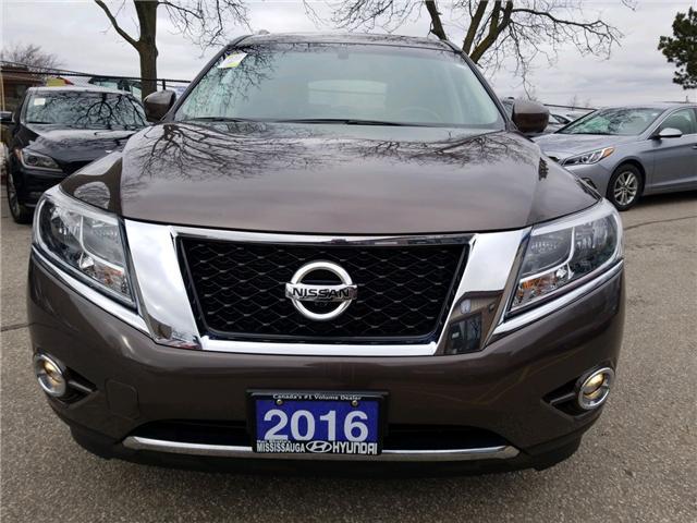 2016 Nissan Pathfinder Platinum (Stk: 39028a) in Mississauga - Image 2 of 20