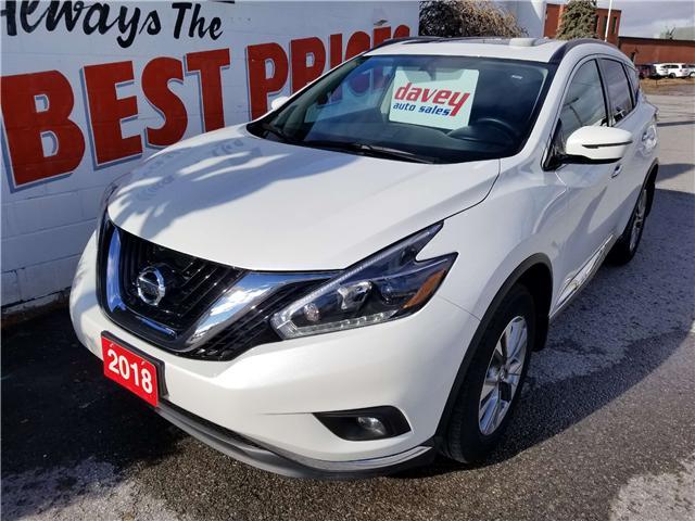 2018 Nissan Murano SV (Stk: 19-075) in Oshawa - Image 1 of 18