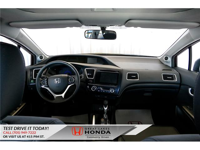 2015 Honda Civic Touring (Stk: H5943A) in Sault Ste. Marie - Image 13 of 23