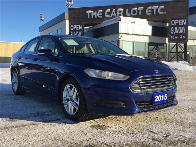 2015 Ford Fusion SE (Stk: 18299) in Sudbury - Image 1 of 15