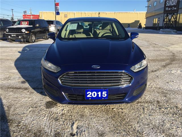 2015 Ford Fusion SE (Stk: 18299) in Sudbury - Image 2 of 15