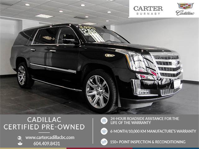 2017 Cadillac Escalade ESV Luxury (Stk: P9-54620) in Burnaby - Image 1 of 25